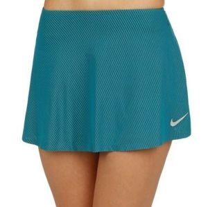 Court Tennis Cooling Smash Skirt Turquoise Blue